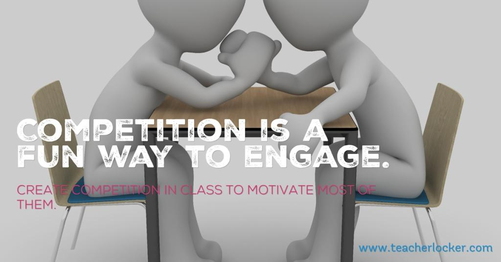 create competition in class