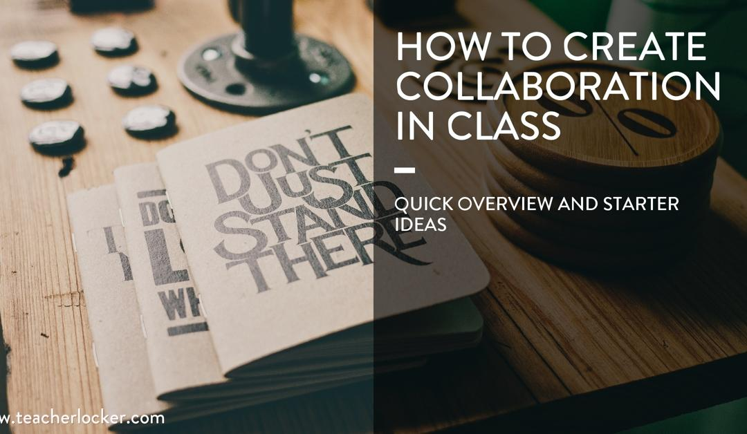 create cooperation in class